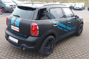 Car Wrapping + Werbebeschriftung